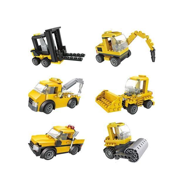 LOZ 79993 Cube Dudes Trucks x6