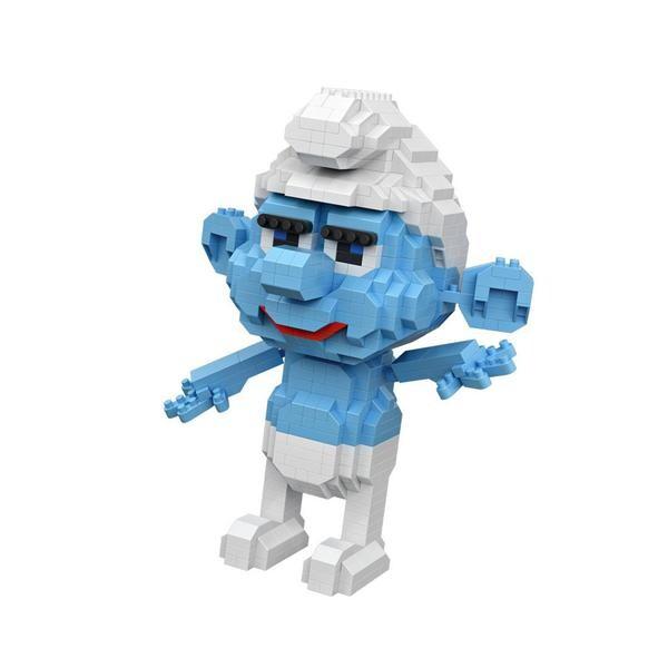 LOZ The Smurfs Hefty Smurf