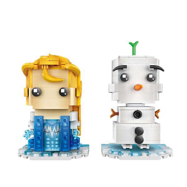LOZ 1713 Frozen Elsa and Olaf