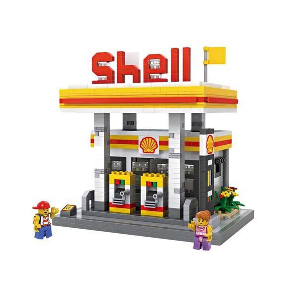 LOZ Large Shell Gas Station