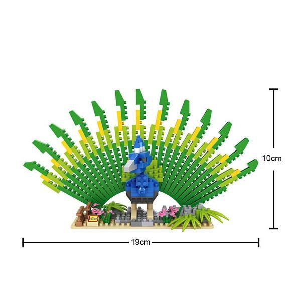 LOZ 9545 Peacock