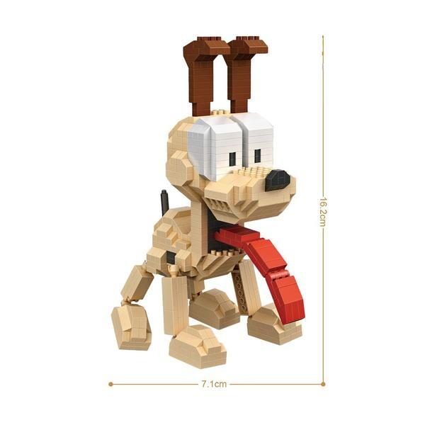 LOZ 9757 Garfield Dog Odie