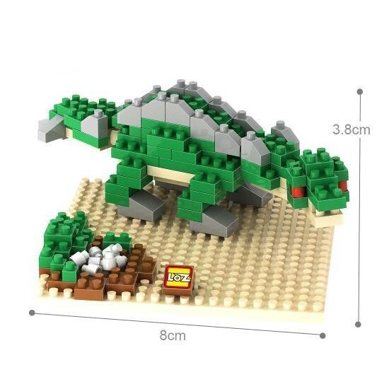 LOZ 9487 Dinosaur Stegosaurus