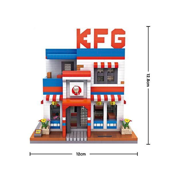 LOZ 9032 Large KFC Restaurant