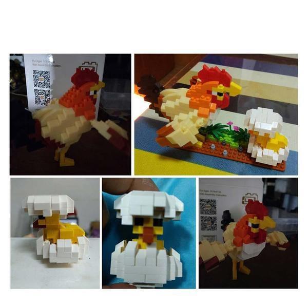 LOZ 9544 Chicken
