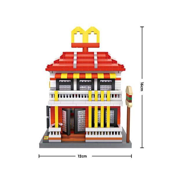 LOZ 9035 Large Mac Donald's Restaurant