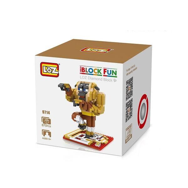LOZ 9714 Kung Fu Panda Monkey