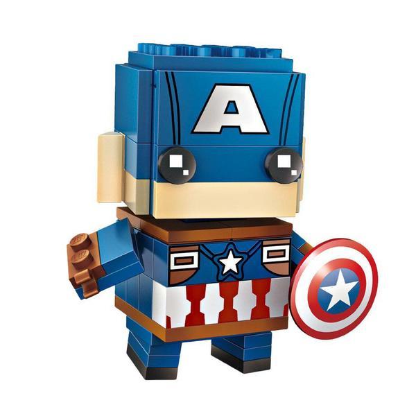 LOZ Brickheadz Captain America
