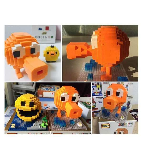 LOZ 9618 Pixels Q-Bert