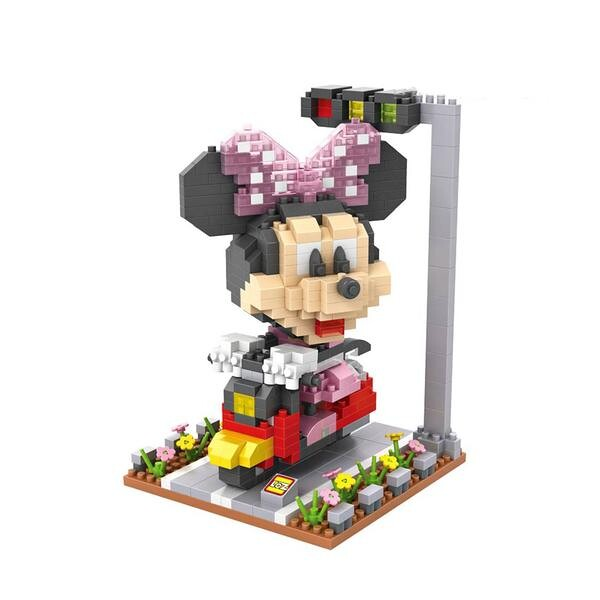 LOZ 9635 Mickey Mouse Scooter Minnie