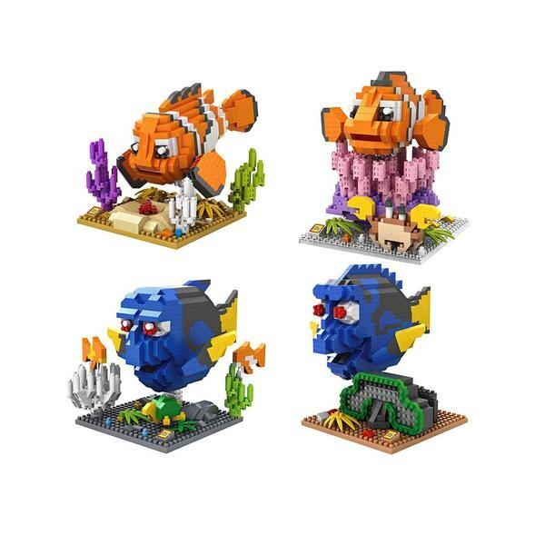 LOZ 9726-9729 Finding Nemo