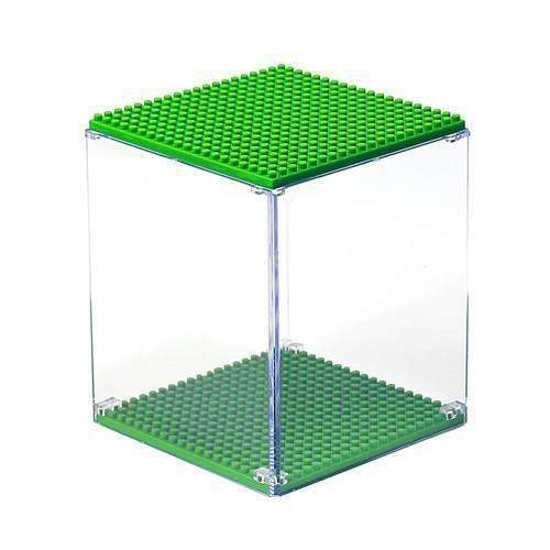 LOZ 9900-7 Light Green Display Case
