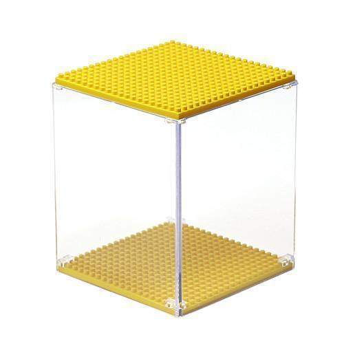 LOZ Display Case Yellow