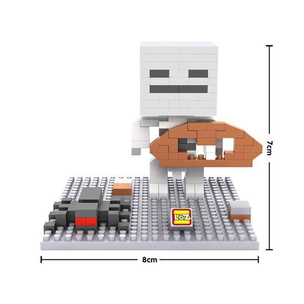 LOZ 9473 Minecraft White Head