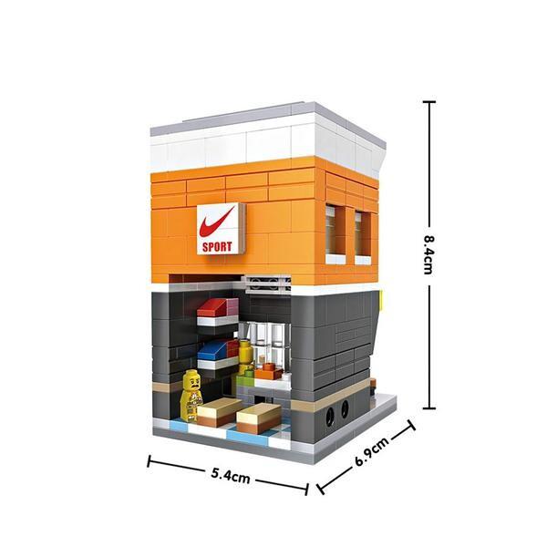 LOZ Mini Street Nike Store