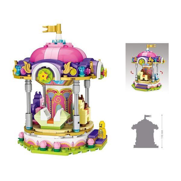 LOZ 9720 Amusement Park Carousel