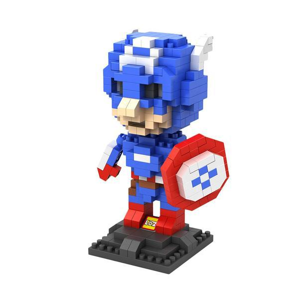 LOZ Superhero Captain America