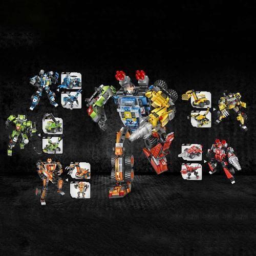 LOZ 1819-1824 Transformers Giant Bundle