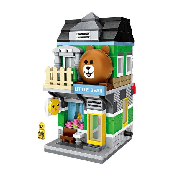 LOZ Mini Street Little Bear Store