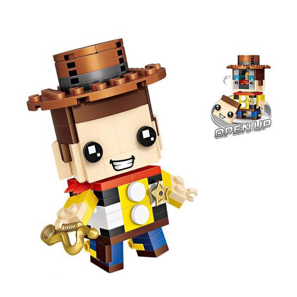 LOZ Brickheadz Toy Story Woody