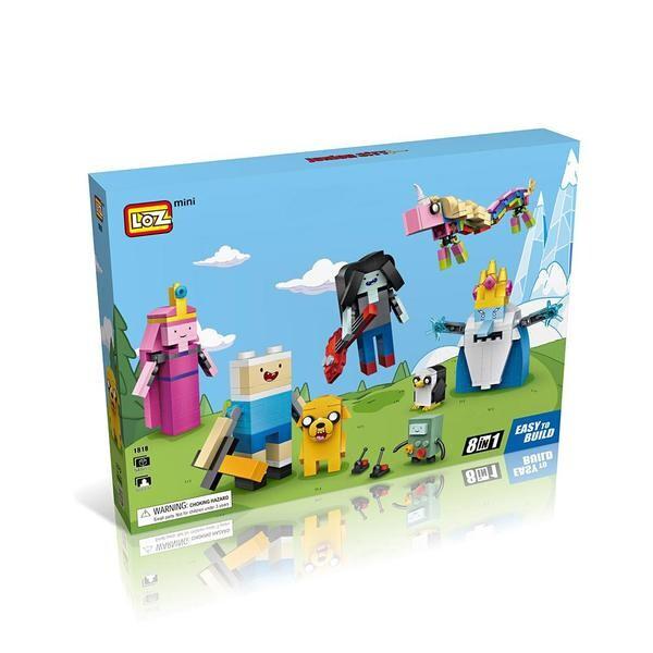 Cube Dudes Adventure Time x8