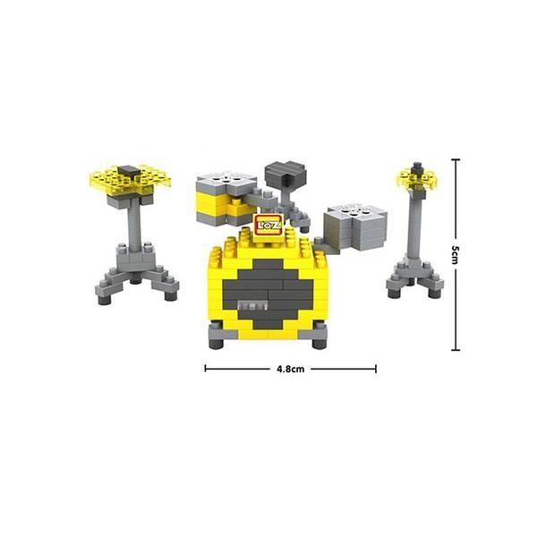 LOZ 9188 Drumset Instrument