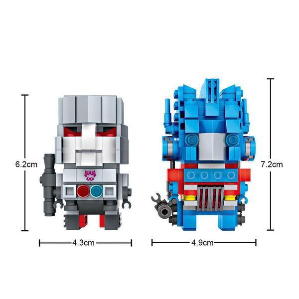 LOZ 1707 Optimus Prime and Megatron