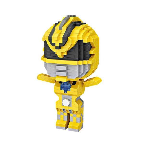 LOZ 9771 Yellow Power Ranger