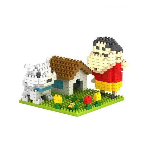 LOZ 9463 Shin Chan and Whitey