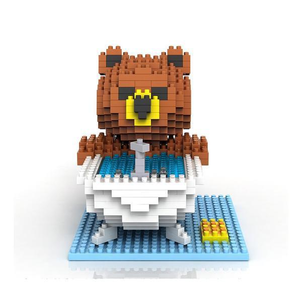 LOZ 9429 Bathing Bear