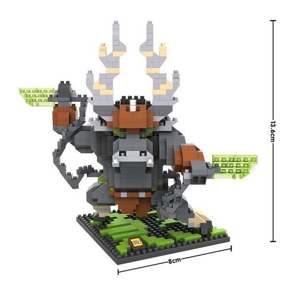 LOZ 9718 Kung Fu Panda Kai