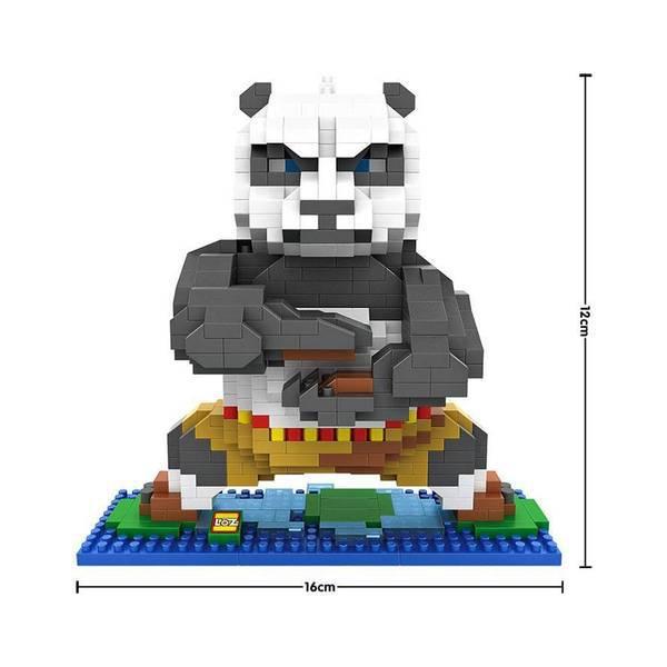 LOZ 9712 Kung Fu Panda Po