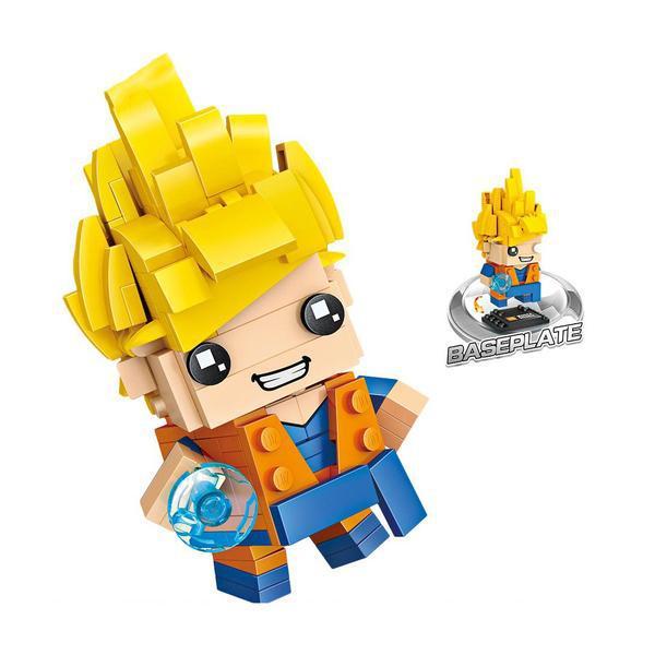 LOZ 1433 Brickheadz Dragon Ball Z Goku