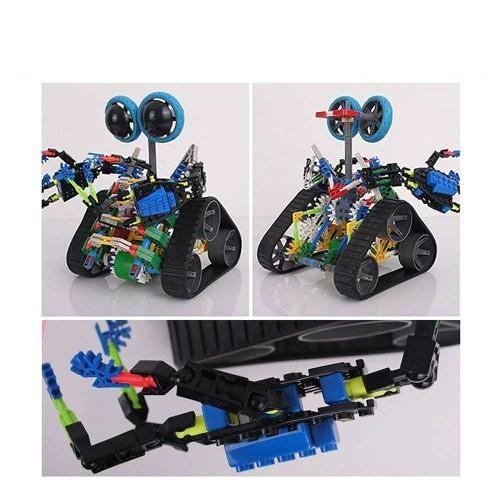 LOZ 3027 Eyed Robot Blue