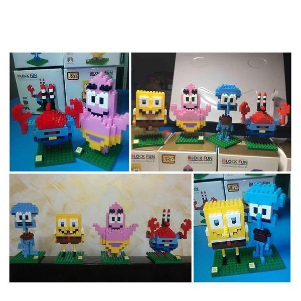 LOZ 9147 Original Spongebob