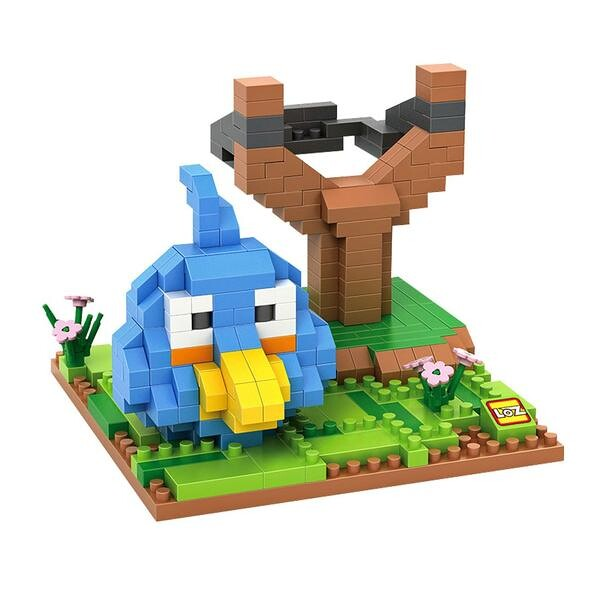 LOZ Angry Birds Blue Small