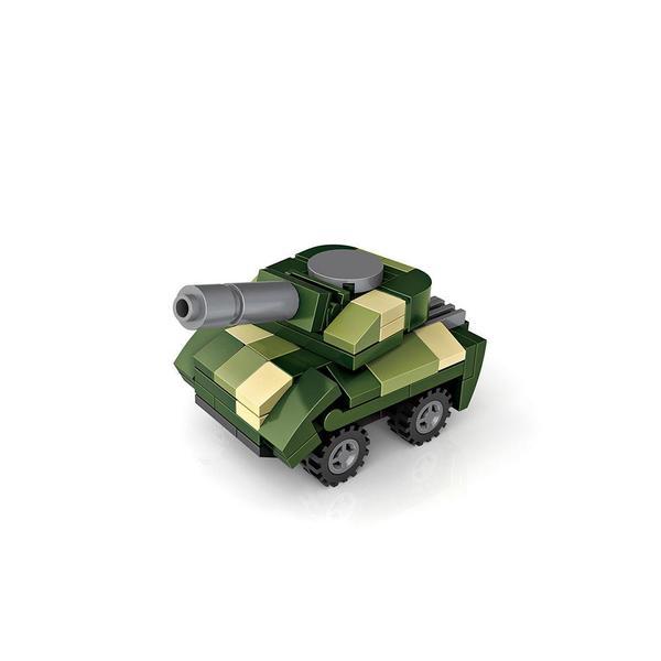 LOZ 79994 Cube Dudes Military Vehicles