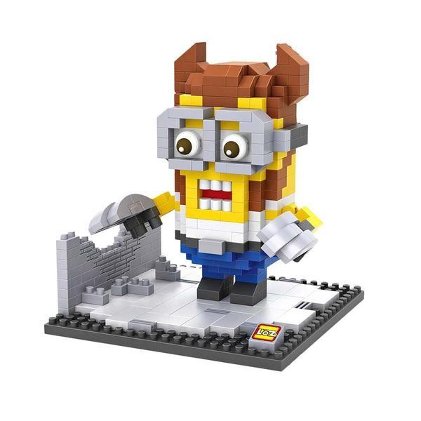 LOZ 9543 Despicable Me Wolverine