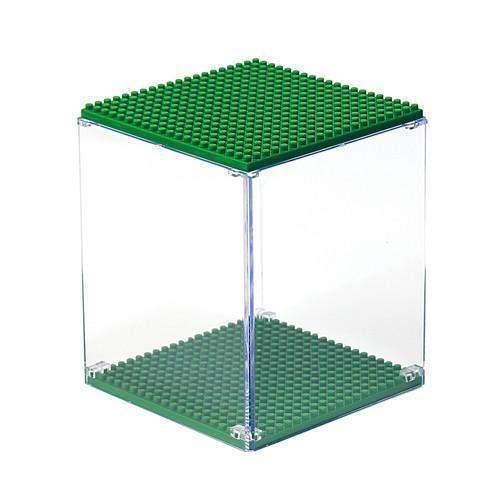 LOZ 9900-5 Dark Green Display Case
