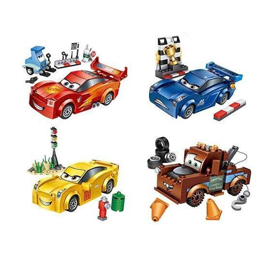 LOZ Disney's Cars Bundle