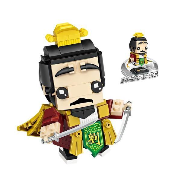 LOZ Brickheadz Warlord Liu Bei
