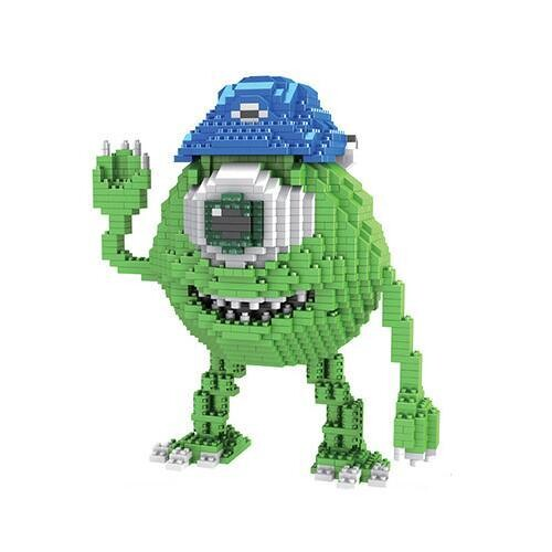 Magic Blocks Monsters Inc Mike