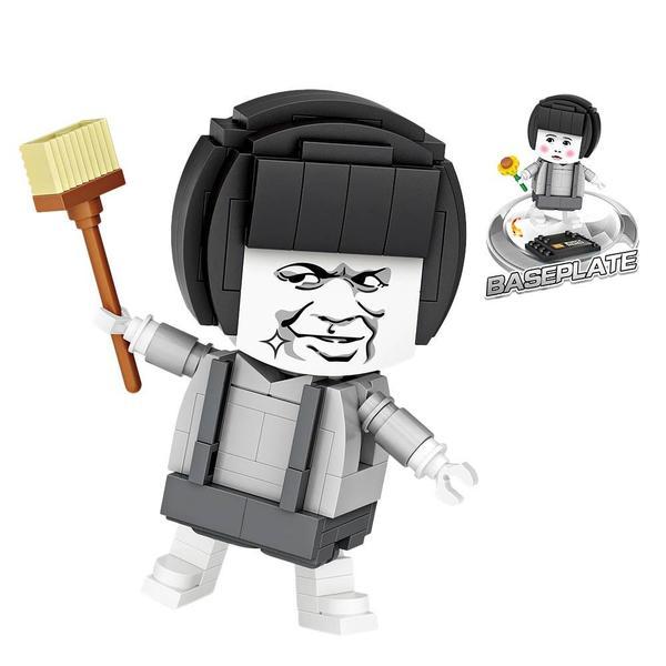 LOZ Brickheadz Mushroom Head Expression Pack
