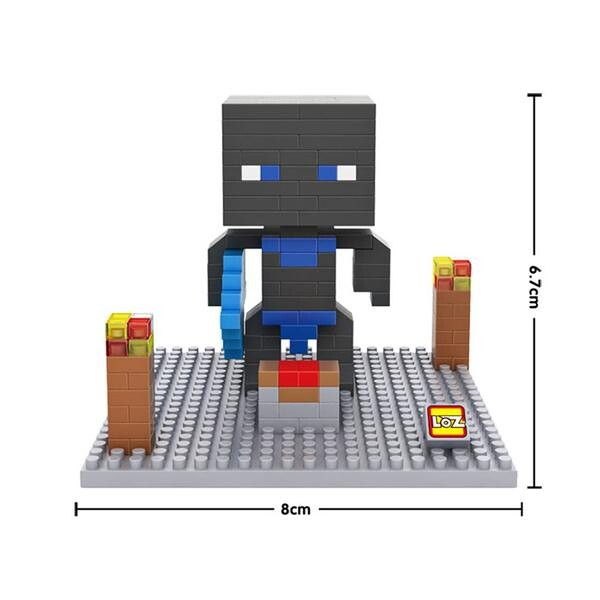 LOZ 9474 Minecraft Black Head