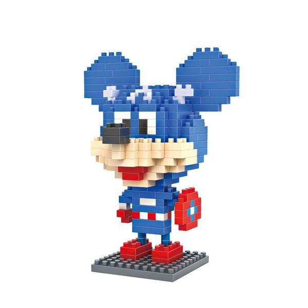 LOZ 9421 Mickey Mouse Captain America