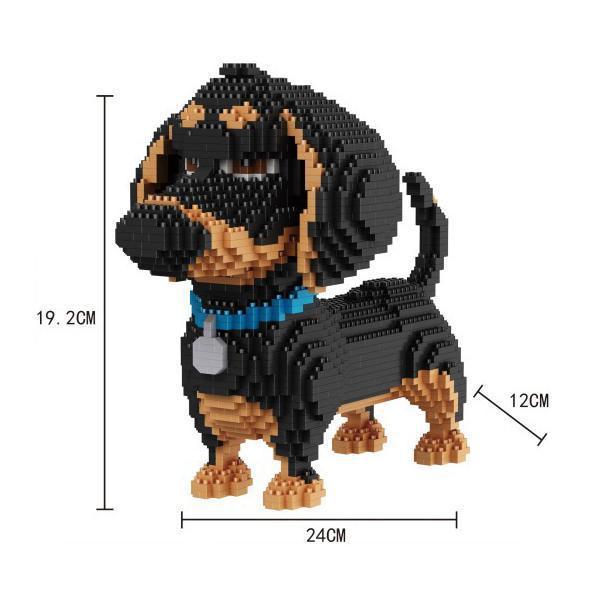 Balody 16014 Teckel Dog