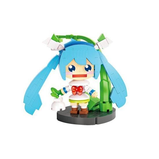 LOZ 1413 Hatsune Miku with Plant