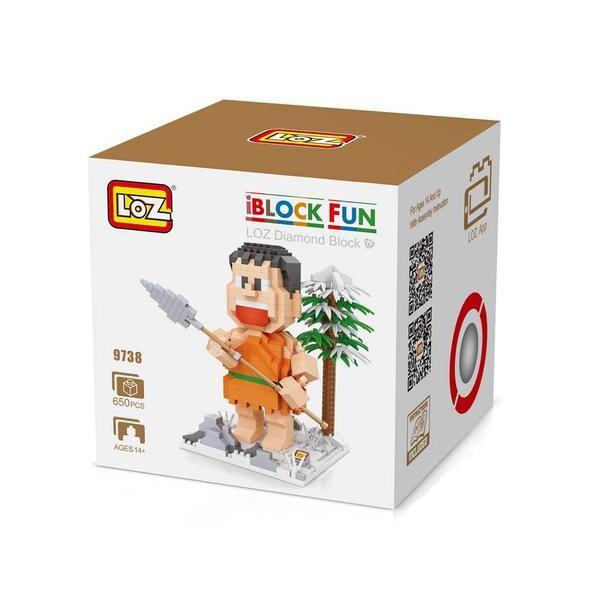 LOZ 9738 Doraemon Orange Spear Jaian