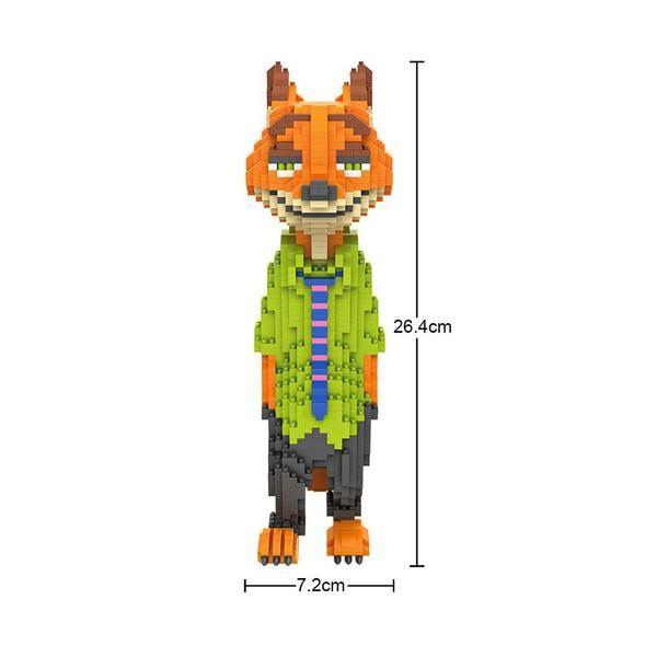 LOZ 9029 Zootopia XL Nick