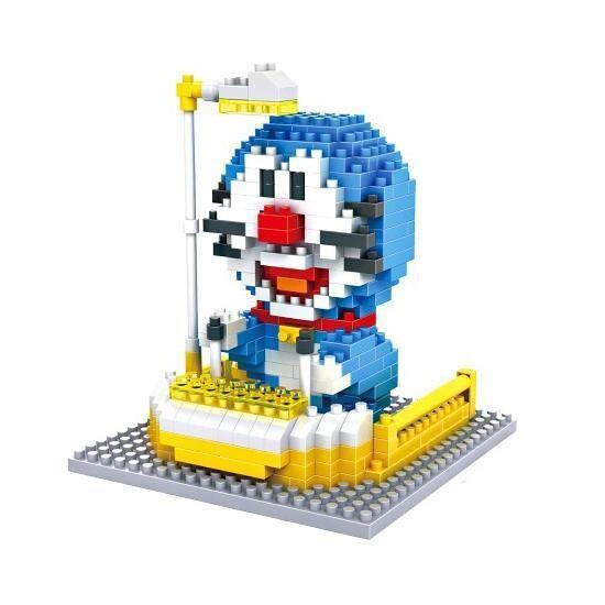 LOZ 9801 Doraemon with Time Machine